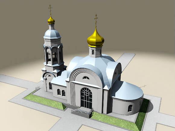 проект церкви Архангела Михаила