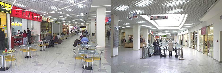 """Эскизный проект общественной зоны ТЦ """"Ладья"""""""