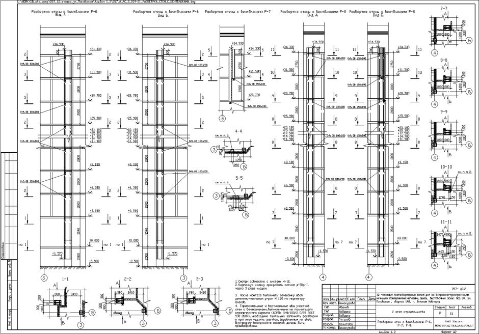 12 -этажный многоквартирный жилой дом со встроенно-пристроенными нежилыми помещениями поз.20