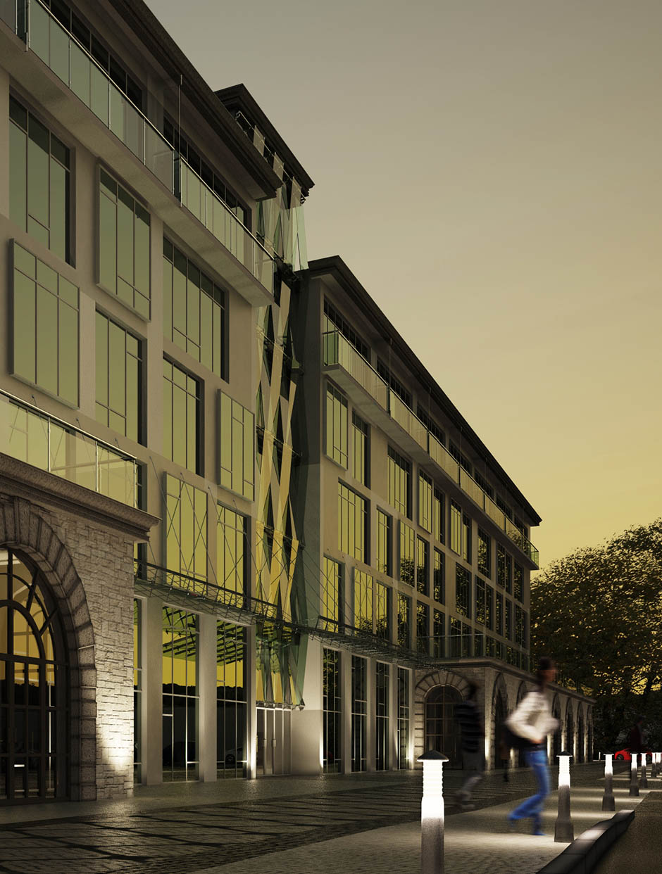 Завершение строительства гостиничного комплекса «Интурист»