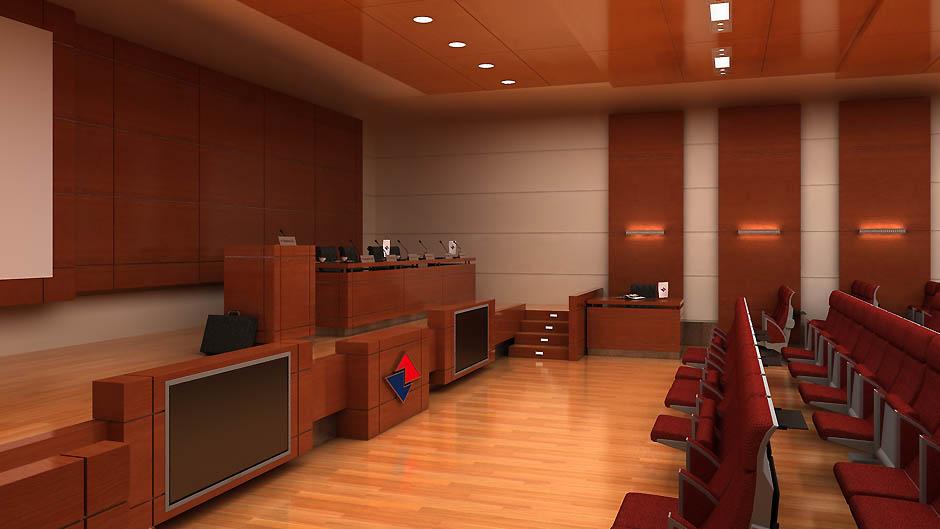 Проект интерьеров Импэкс Банка
