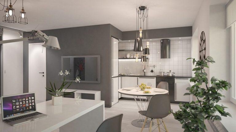 проекты кухня гостиная в панельном доме фото чем