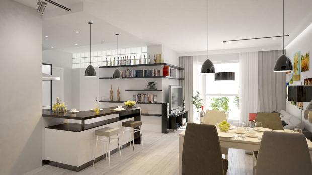 Перепланировка квартиры в ЖК «Алые паруса»