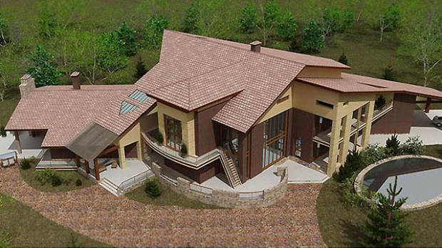 Проект жилого дома «Лазурный берег»